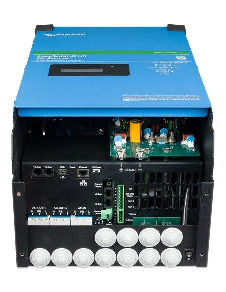 EasySolar-II GX 48-3000VA 32-32 MPPT 250-70 GX (connector side)