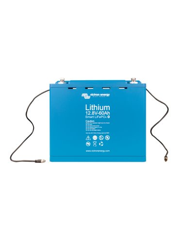 LiFePO4 battery 12,8V 60Ah - Smart (front)