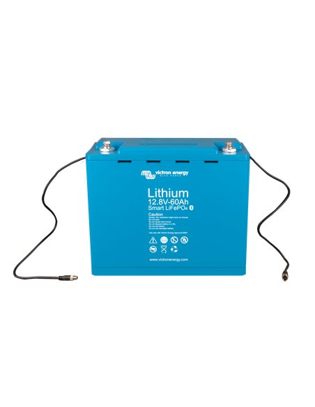 LiFePO4 battery 12,8V 60Ah - Smart (front-angle)