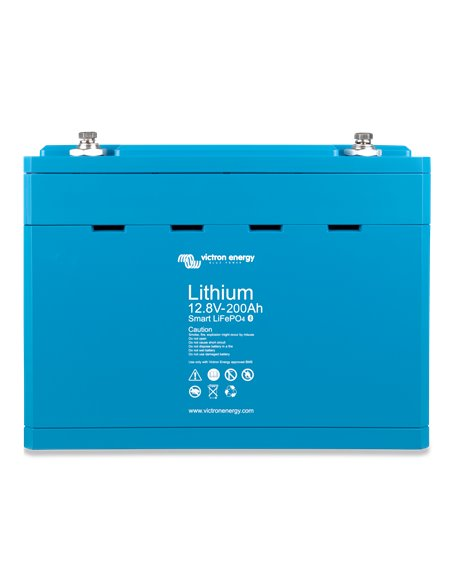 LiFePO4 Battery 12.8V 200Ah Smart (front)