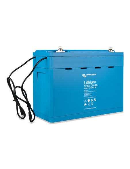LiFePO4 Battery 12.8V 200Ah Smart (left)