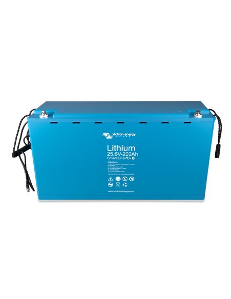 LiFePO4 Battery 25.6V 200Ah Smart (right)