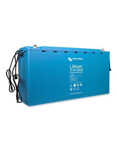 LiFePO4 Battery 25.6V 200Ah Smart (right-angle)