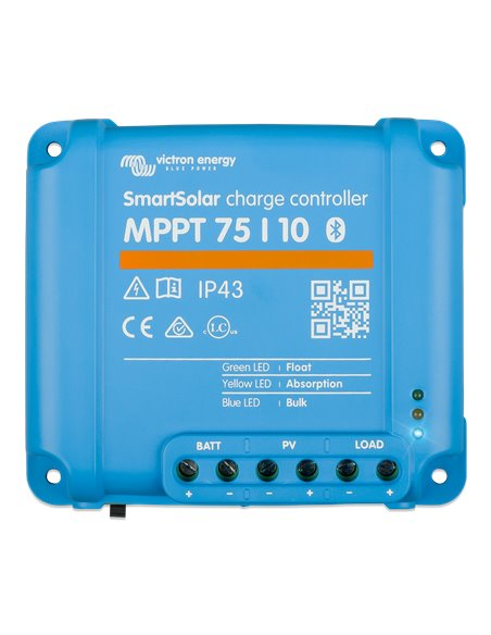 SmartSolar charge controller MPPT 75/10 (top)