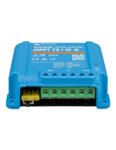 SmartSolar charge controller MPPT 75/10 (front)