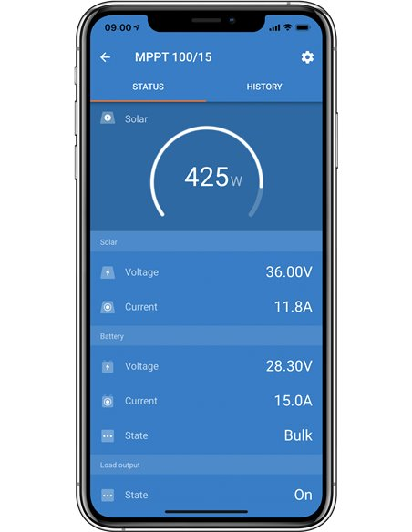 iPhone SmartSolar Status