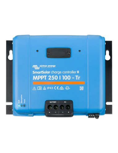 SmartSolar charge controller MPPT 250/100-Tr (top)
